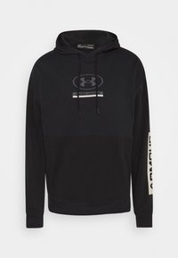 Under Armour - PACK HOODIE - Mikina - black/pitch gray - 5