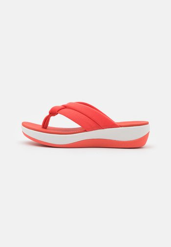 ARLA KAYLIE - T-bar sandals - coral
