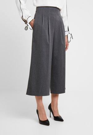 CULOTTE FRANKA - Pantalones - grey melange