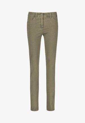 Slim fit jeans - light khaki