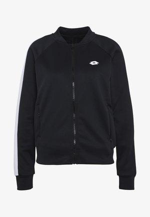 VABENE JACKET - Zip-up hoodie - all black
