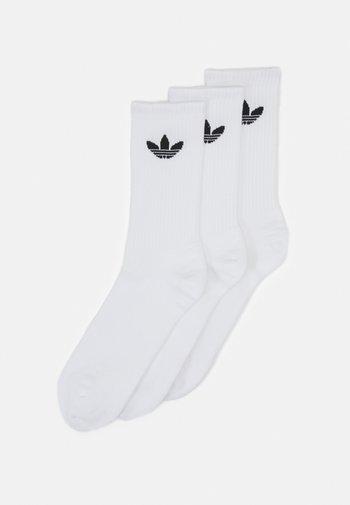 3 PACK UNISEX - Socks - white/black