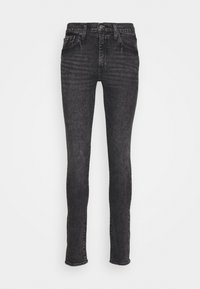 Levi's® - SKINNY TAPER - Vaqueros pitillo - black denim - 4