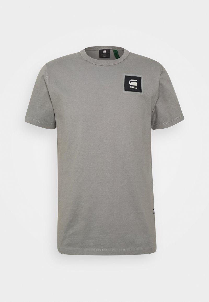 G-Star - BADGE LOGO - T-shirt med print - charcoal