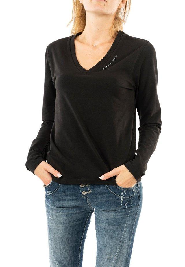 T-shirt à manches longues - noir
