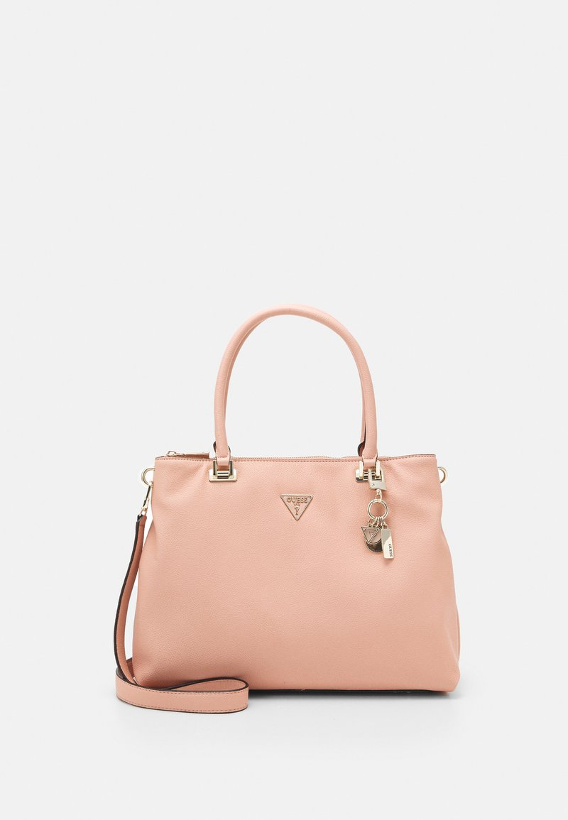 Guess - HANDBAG DESTINY SOCIETY CARRYALL - Handbag - blush