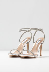 Steve Madden - FESTIVE - High heeled sandals - silver - 4