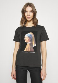 Even&Odd - T-shirt imprimé - anthracite - 0