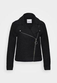 ONLASHA  - Faux leather jacket - black