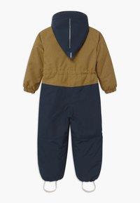 Finkid - TURVA ICE UNISEX - Snowsuit - cinnamon/navy - 1