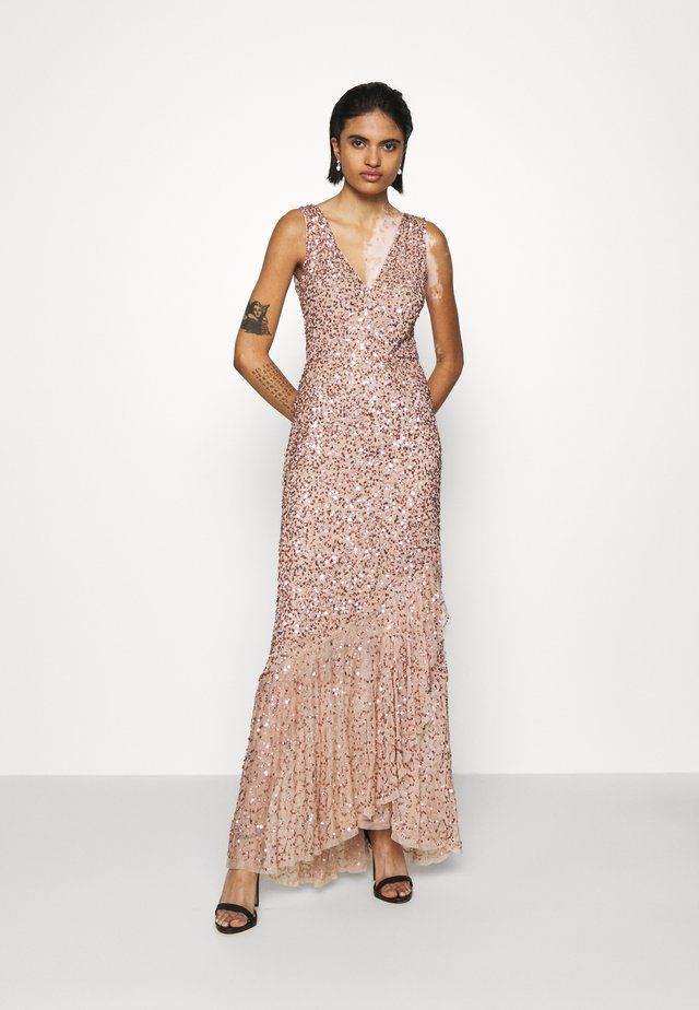 FLOSSY MAXI - Occasion wear - taupe