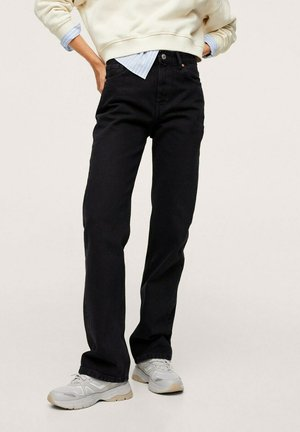 GALA - Straight leg jeans - black denim