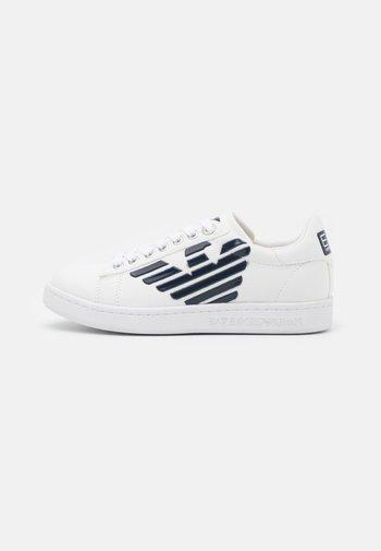 UNISEX - Trainers - white/navy