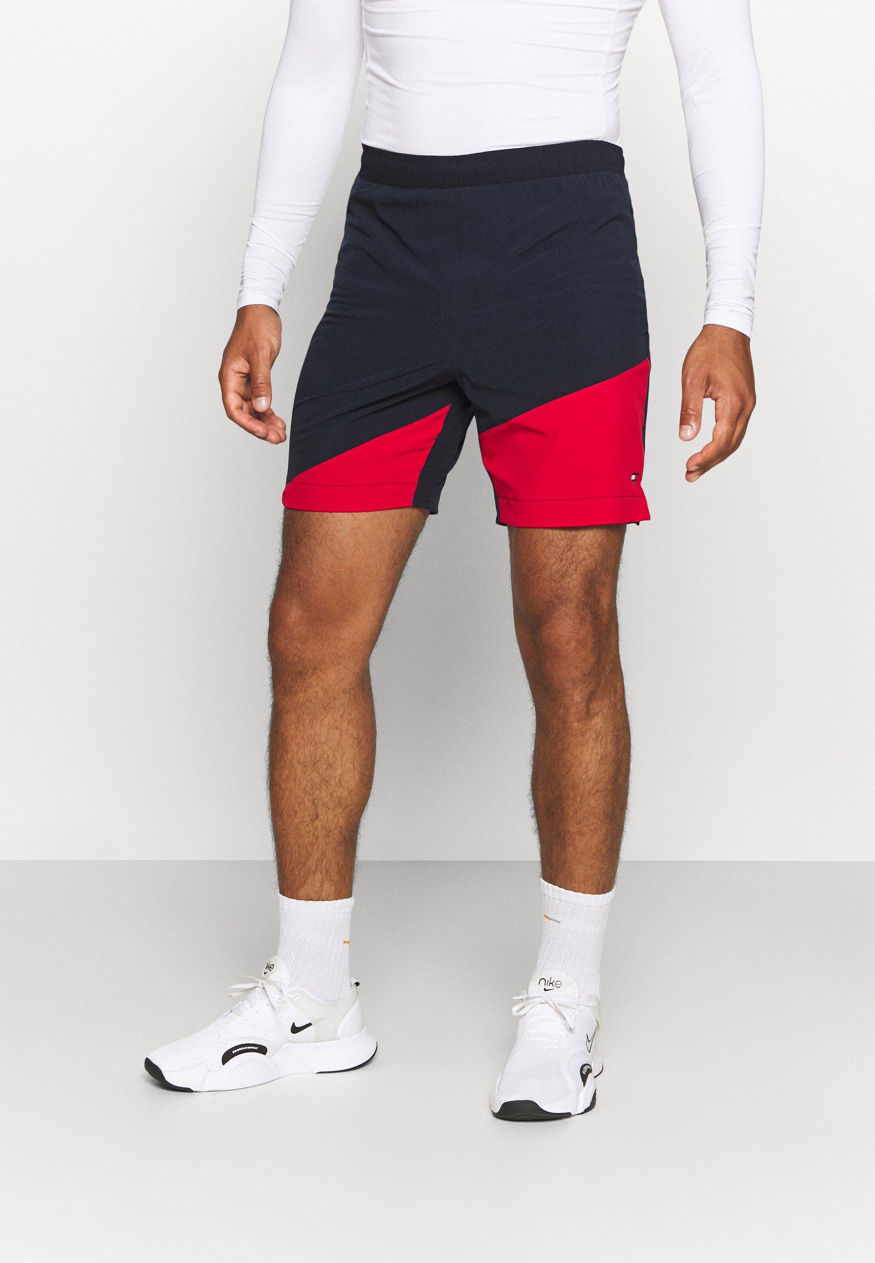 Men BLOCKED TRAINING SHORT - Sports shorts