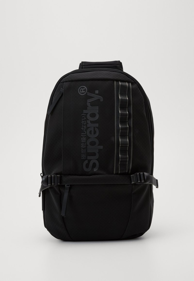 Superdry - COMBRAY SLIMLINE BACKPACK - Batoh - black