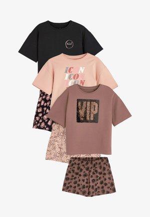 3 PACK - Pyjamas - brown