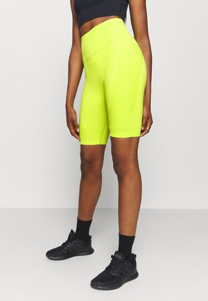 SPIN SEAMLESS LONGLINE WORKOUT SHORT - Tights - lime punch green