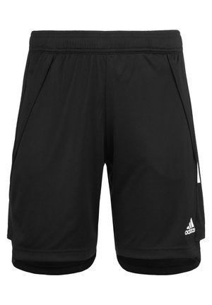 Sports shorts - black / white