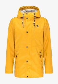Schmuddelwedda - Waterproof jacket - curry - 4