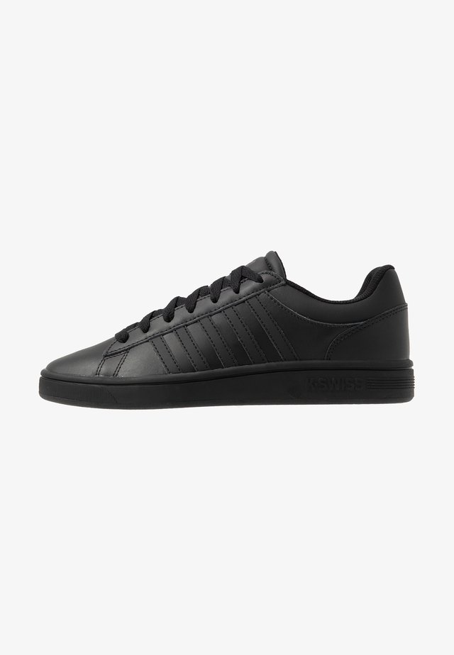 COURT WINSTON - Sneakers basse - black