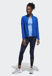 adidas Performance - RISE UP N RUN LONG-SLEEVE TOP - Funktionströja - blue - 1