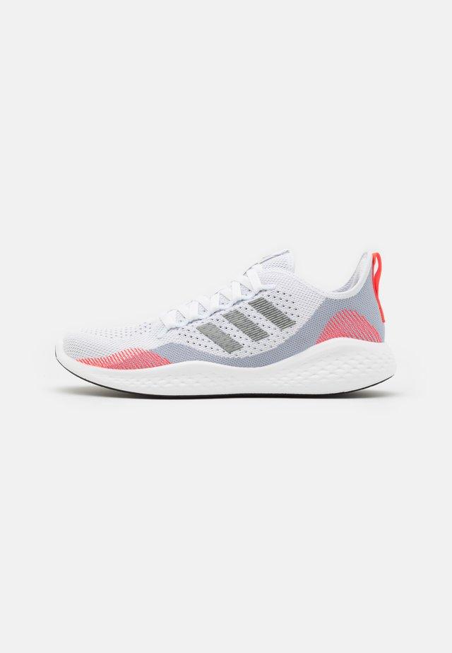 FLUIDFLOW 2.0 - Neutral running shoes - halo silver/iron metallic/footwear white
