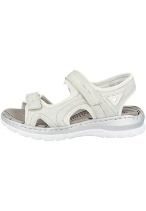 Walking sandals - white-silver-pure white (66966-80)