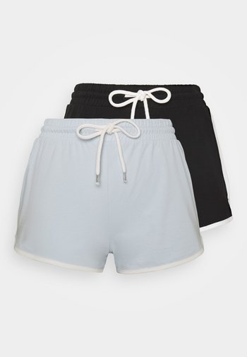 STINA 2 PACK - Pantalones deportivos - blue/black