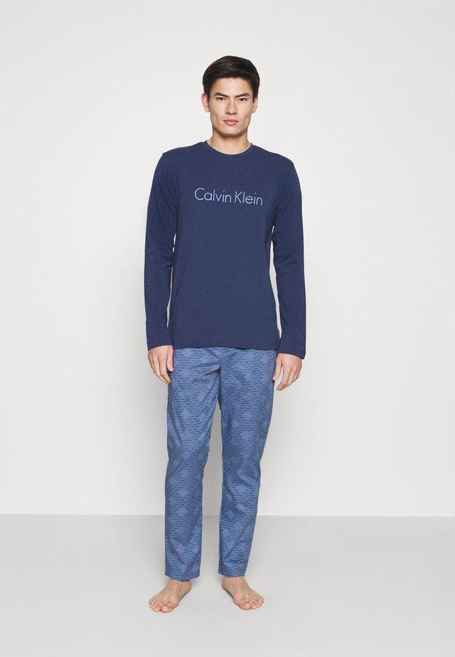 PJ PANT - Pyjama - blue