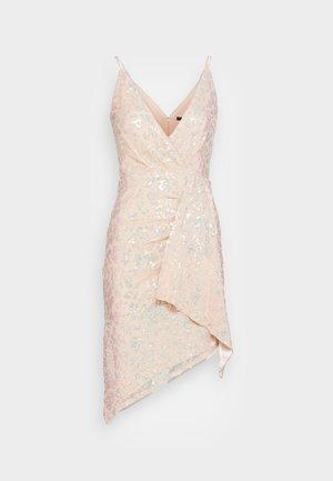 RICKI DRESS - Vestito elegante - nude/gold