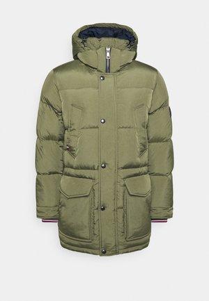 Down coat - green
