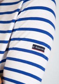 Armor lux - CAP COZ MARINIÈRE - Long sleeved top - blanc etoile - 2
