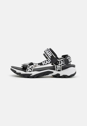 VOLT AKTIV TAPE RUN  - Walking sandals - black/white