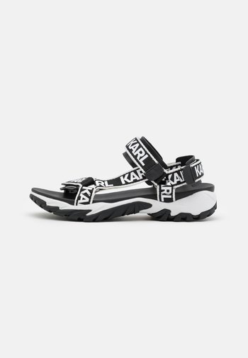 VOLT AKTIV TAPE RUN  - Chodecké sandály - black/white
