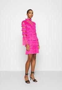 By Malina - DRESS - Vestito elegante - cerise - 1