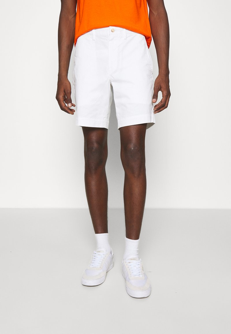 Polo Ralph Lauren - STRAIGHT FIT BEDFORD  - Shorts - pure white