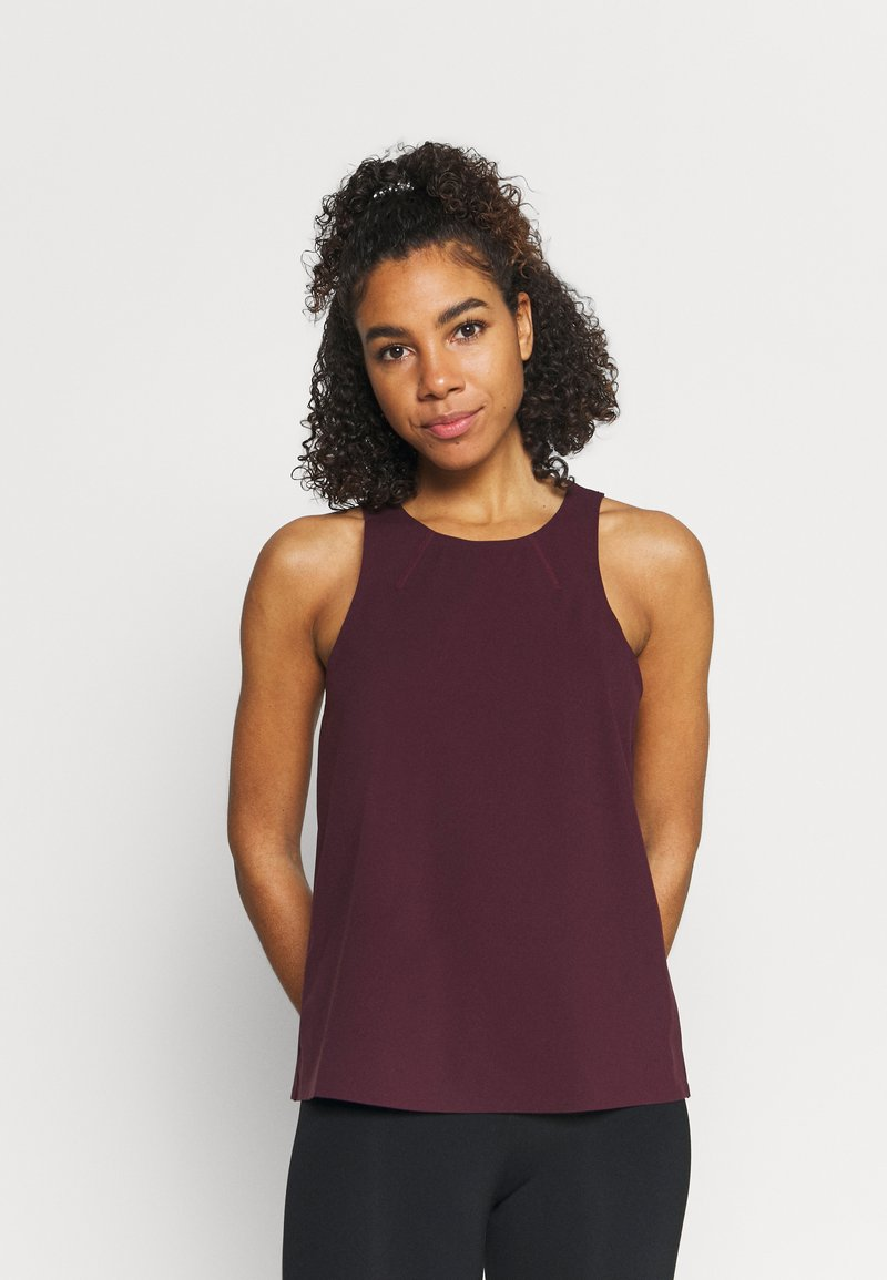 Sweaty Betty - POWER MISSION WORKOUT - Top - plum red