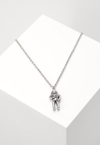 SPACE AGE PENDANT NECKLACE - Halsband - silver-coloured