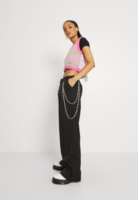 The Ragged Priest - DROPOUT PANT - Trousers - black - 3