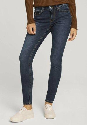 JONA - Jeans Skinny Fit - used dark stone blue denim