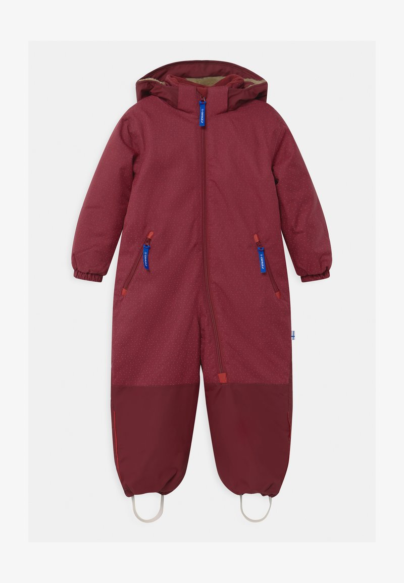 Finkid - TURVA ICE UNISEX - Snowsuit - persian red/cabernet