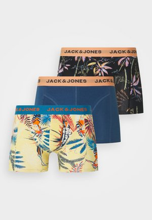 JACTROPIC PALM TRUNKS 3 PACK - Pants - shell coral/mediterranian blue/tap