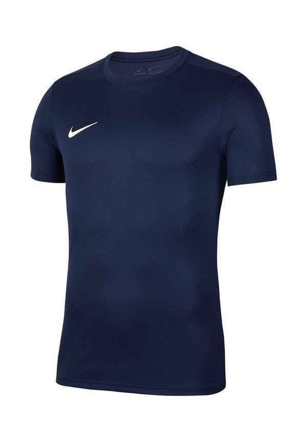 Nike Performance DRI-FIT PARK - T-shirt basic - nachtblau (301)/ciemnoniebieski Odzież Męska ACFN