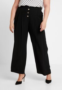River Island Plus - Trousers - black - 0