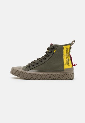 PALLA ACE SUPPLY MID UNISEX - High-top trainers - olive night
