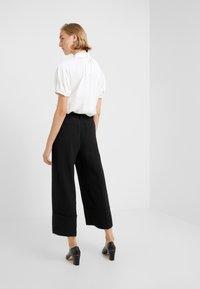 J.CREW - VALENTIN PANT  - Spodnie materiałowe - black - 2