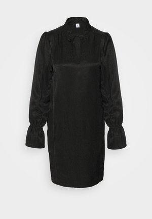 EDINA - Vestido camisero - black