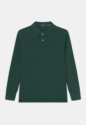 SLIM - Polo shirt - college green