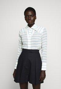 Victoria Victoria Beckham - Button-down blouse - sky blue - 0