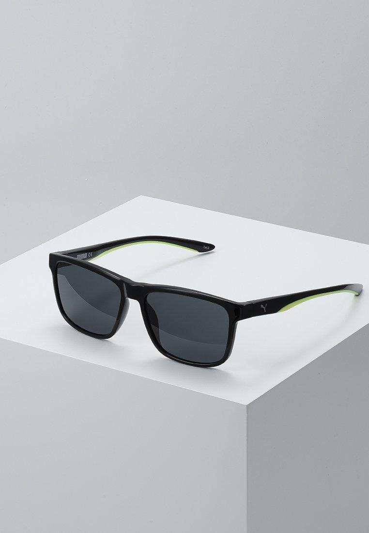 Puma - Sunglasses - black/yellow